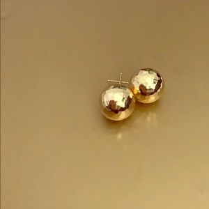 Jewelry - 12mm 14K disco ball studs